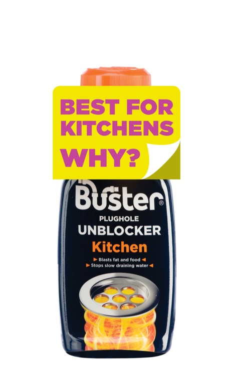 Buster Kitchen Plughole Unblocker - 200g
