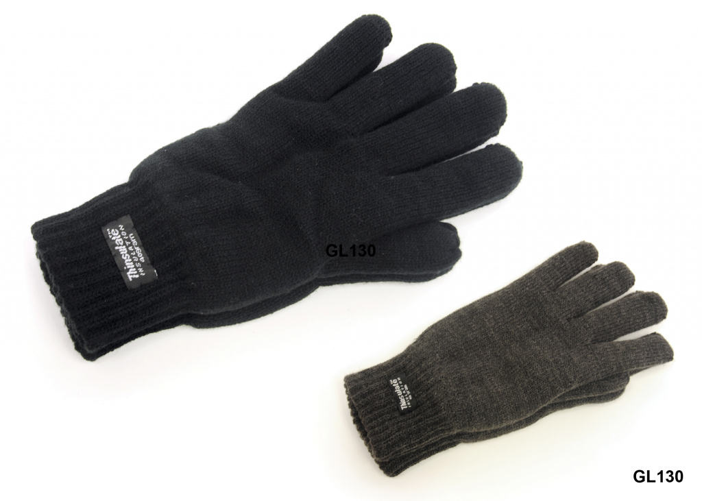 RJM Mens Thinsulate Gloves