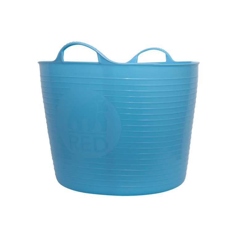 Red Gorilla Flexible Large Tub - Sky Blue