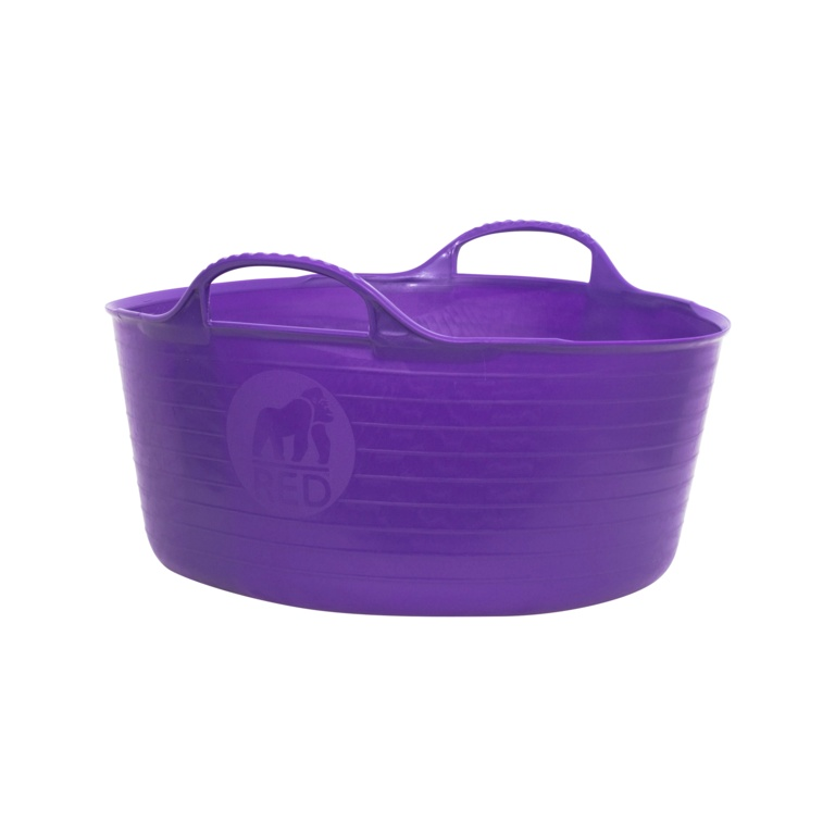 Red Gorilla Flexible Small Shallow Tub - Purple