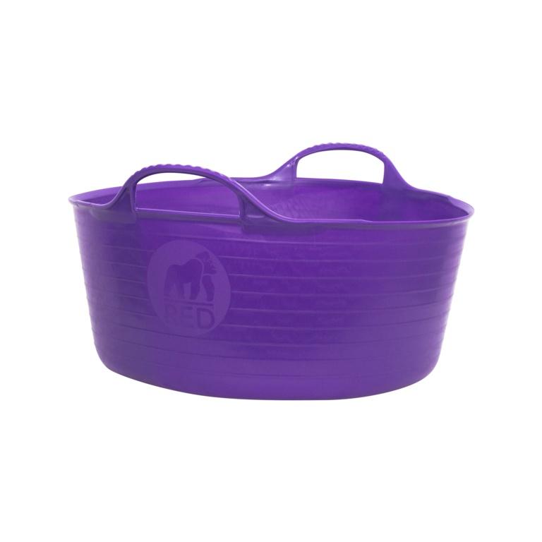 Red Gorilla Flexible Small Shallow Tub - Purple