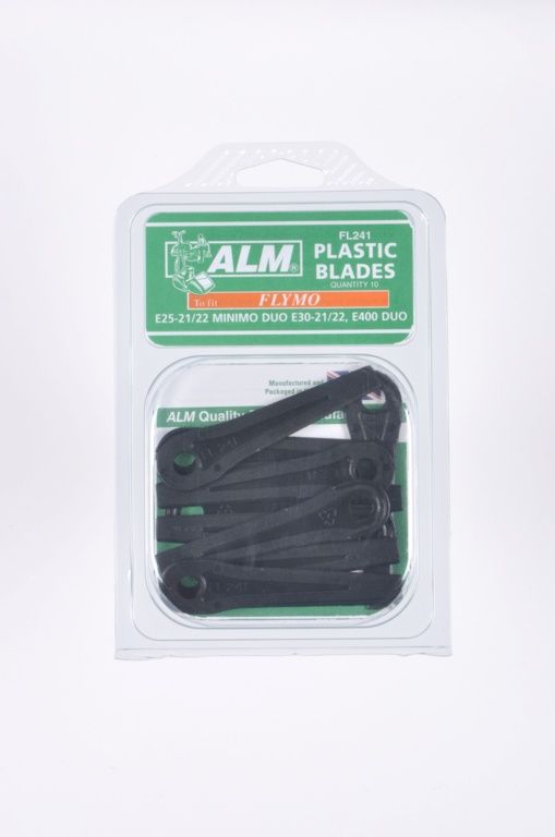 ALM Plastic Blades -  with Small Hole - Pack of 10