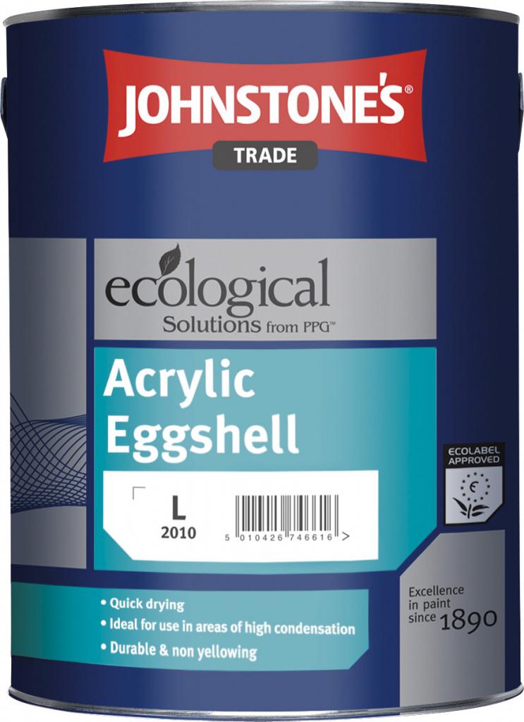 Johnstone's Trade Acrylic Eggshell - Z 4.62L