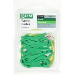 ALM Plastic Blades Pack of 20 QT02