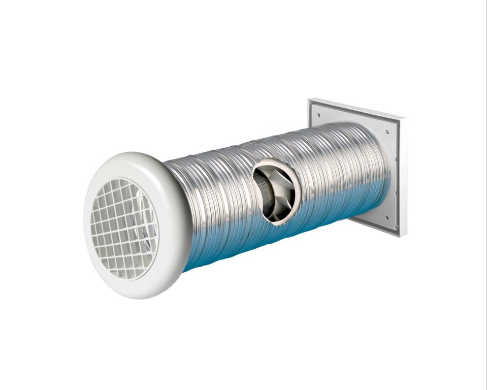"""Manrose Slimline Shower Wall Fan - 4"""""""