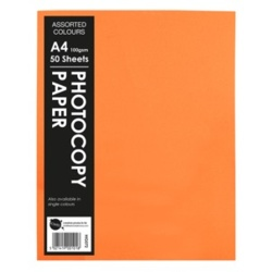 Hi-Glo A4 Photo Fluorescent Copy Paper - Pack of 50