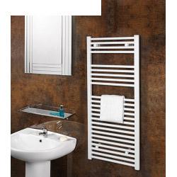 SupaPlumb White Straight Towel Rail - 500 X 1200mm
