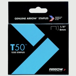 Arrow T50 Staples 6mm