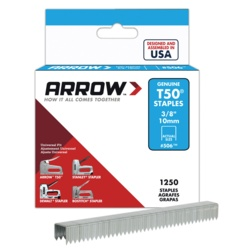 Arrow T50 Staples 10mm (1250)