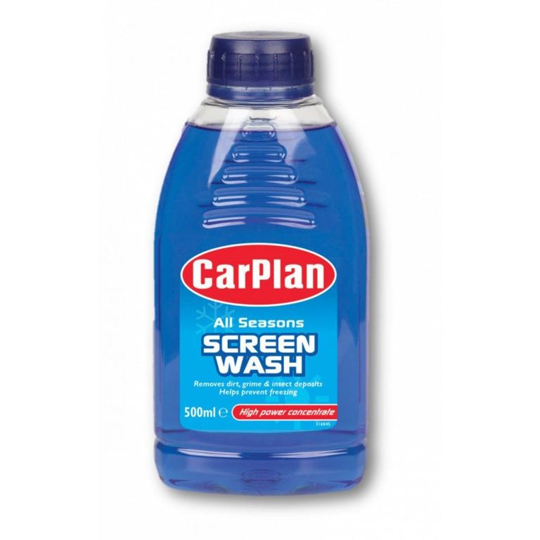 Carplan All Seasons Screen Wash - 500ml