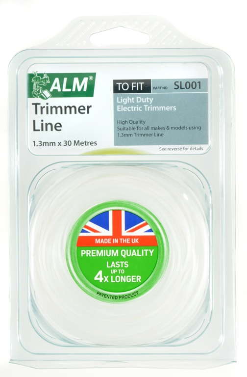 ALM Trimmer Line - White - 1.3mm x 30m