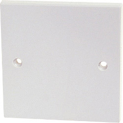 Dencon Single Plastic Blanking Plate to BS5733 Skin Packed