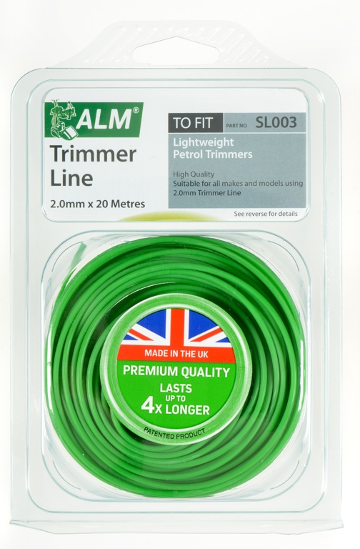 ALM Trimmer Line - Green - 2.0mm x 20m