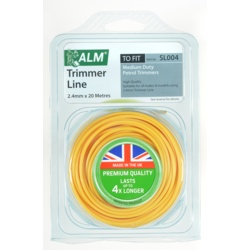 ALM Trimmer Line - Yellow 2.4mm x 20m