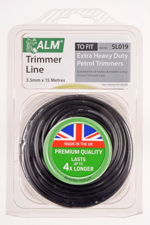 ALM Trimmer Line -  Black - 3.5mm x 15m