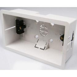 Dencon 2Gang Dry Lining Box 47mm Deep
