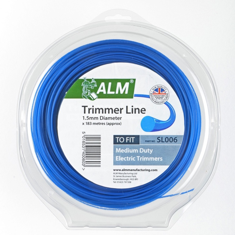 ALM Trimmer Line - Blue - 1.5mm x 1/2kg approx 183m