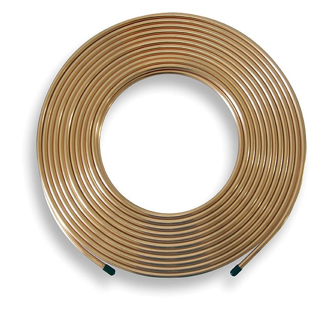 Copper Pipe Coil - 10mx10mm