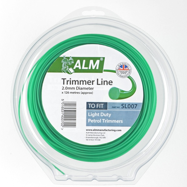 ALM Trimmer Line - Green - 2.0mm x 1/2kg approx 122m