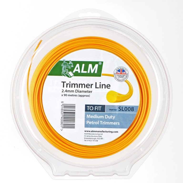 ALM Trimmer Line - Yellow - 2.4mm x 90m