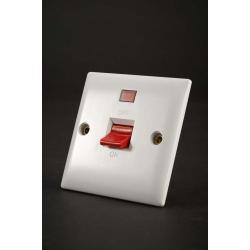 Dencon S/L Switch With Neon 45aDP - Square