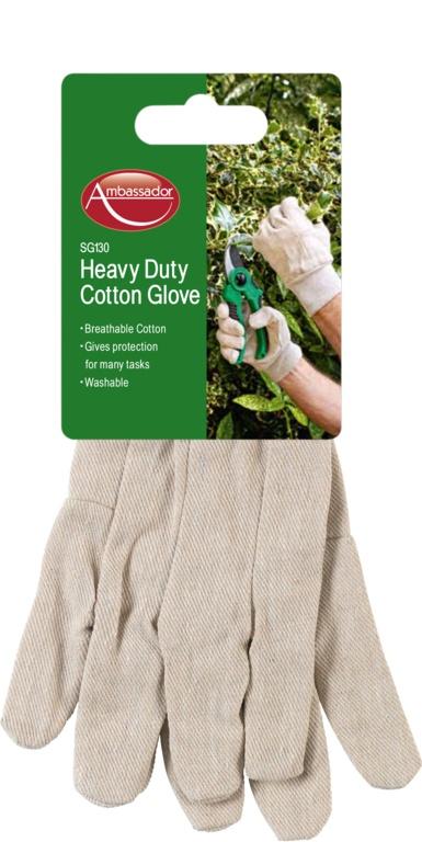 Ambassador Heavy Duty Cotton Glove