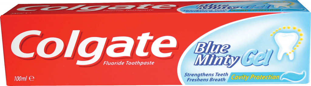 Colgate Toothpaste 100ml - Blue Minty Gel
