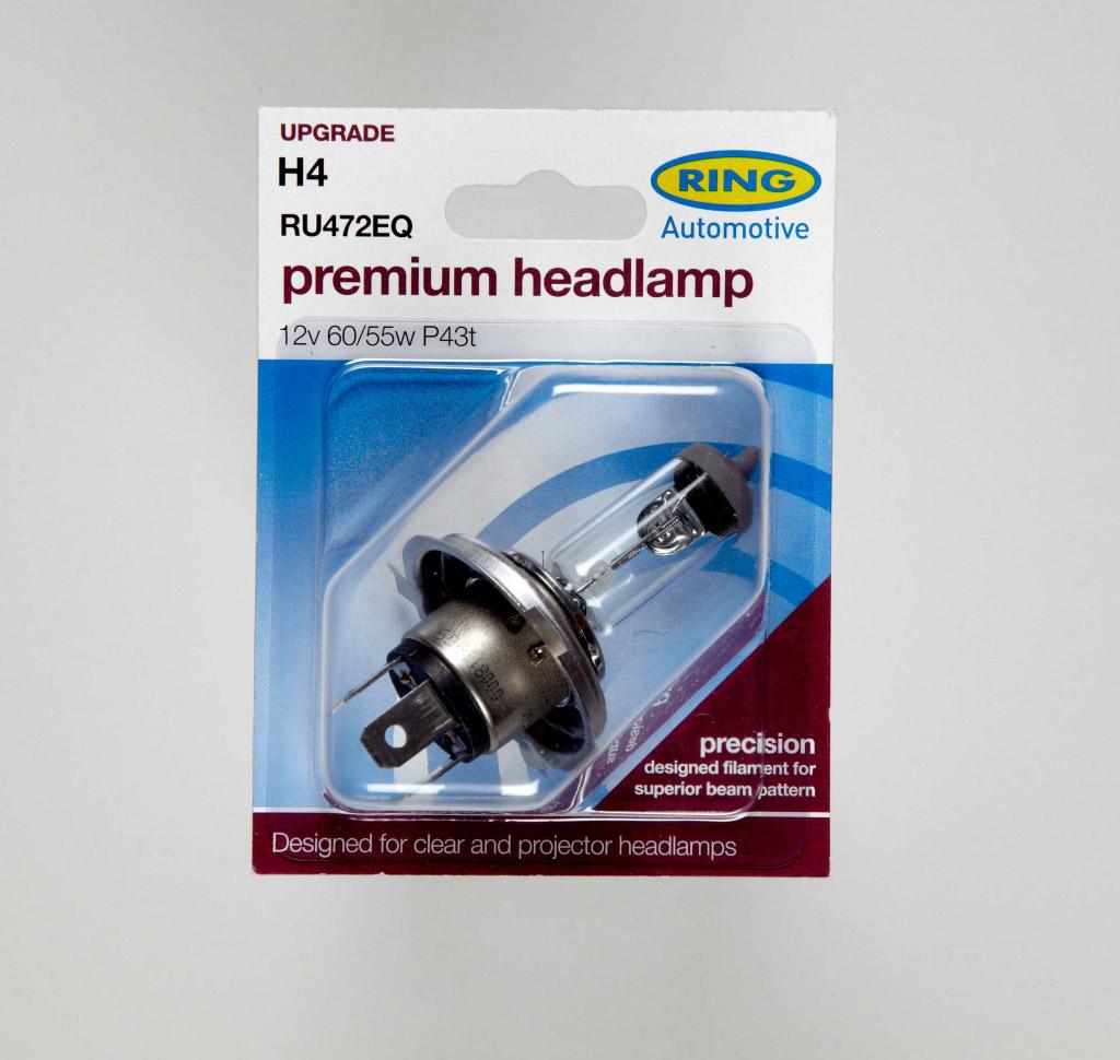 Ring H4 Headlamp