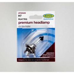 Ring 12v 55w H7 Haloge Headlamp