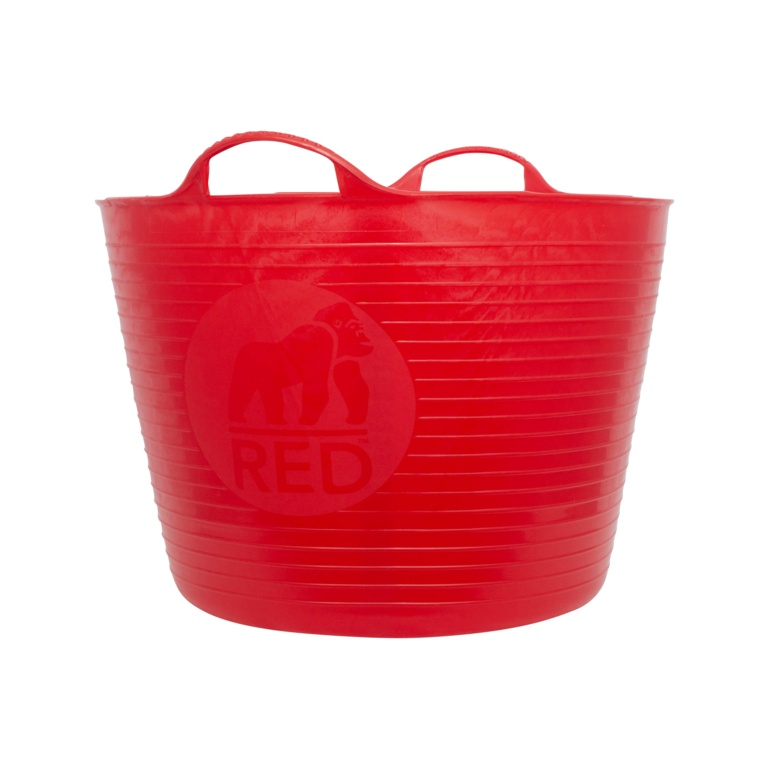 Red Gorilla Flexible Large Tub - Red