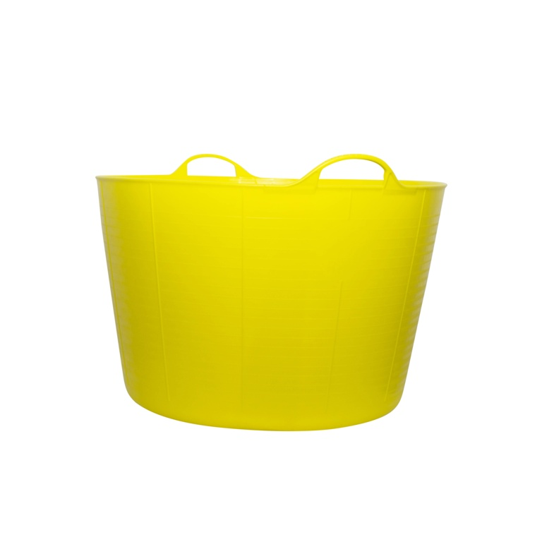 Red Gorilla Flexible Extra Large Tub - Yellow