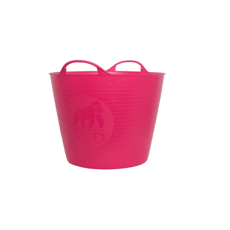Red Gorilla Flexible Small Tub - Pink