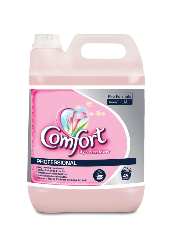 Comfort Fabric Softener - 5L Lily & Rice Flower