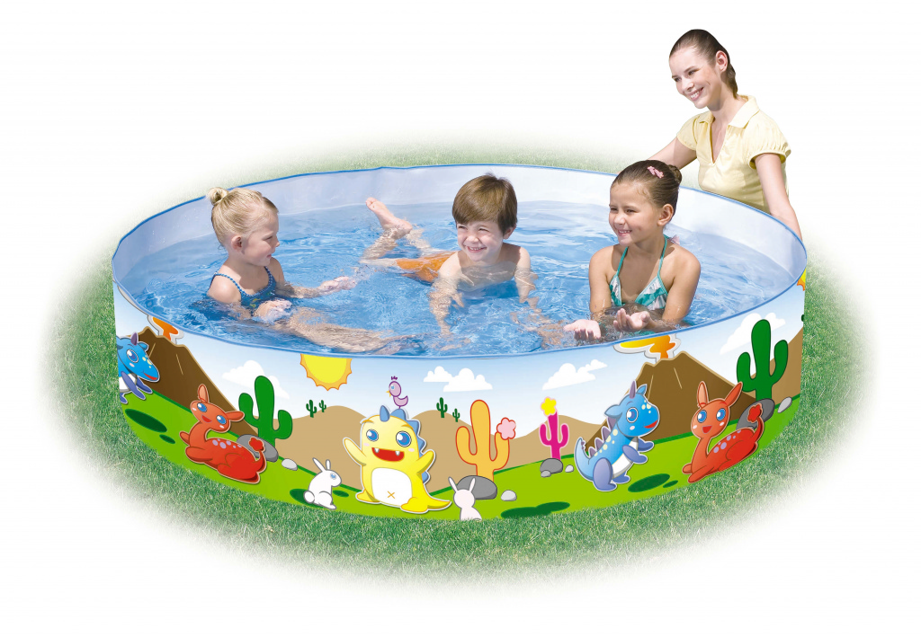 "Bestway Dinosaur Fill 'n' Fun Pool - 72""x15"""