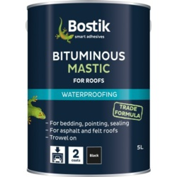 Bostik Bituminous Mastic for Roofs - 5L