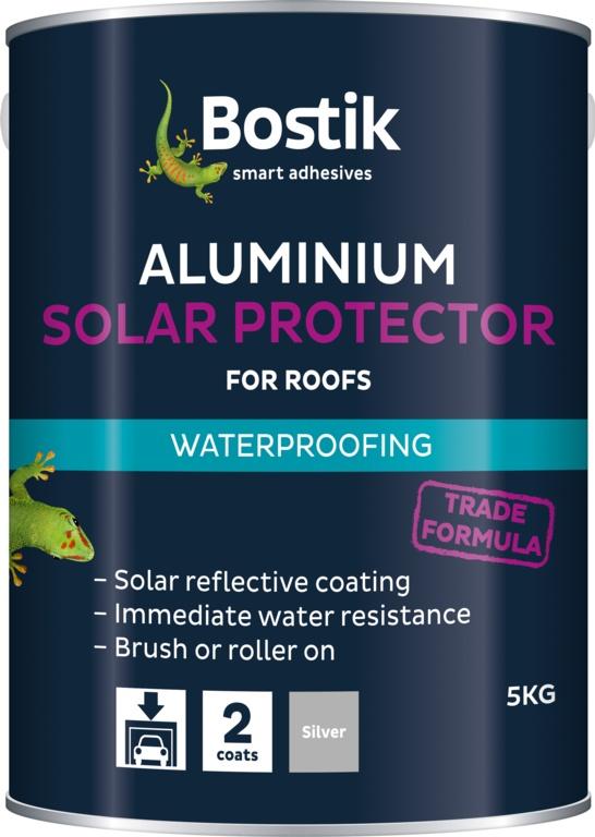 Bostik Aluminium Solar Protector for Roofs - 5Kg