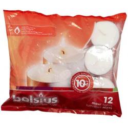 Bolsius Maxi Tealights 60mm - Pack 12