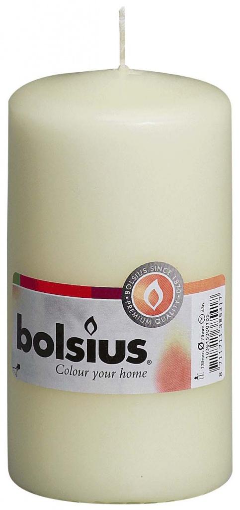 Bolsius Pillar Candle - 130mm x 70mm Ivory