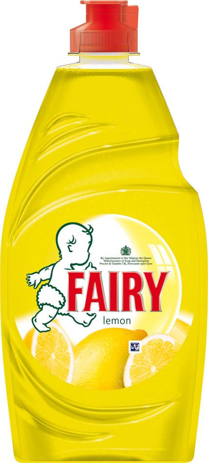 Fairy Washing Up Liquid 433ml - Lemon