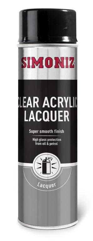 Simoniz Clear Lacquer - Acryllic - 500ml