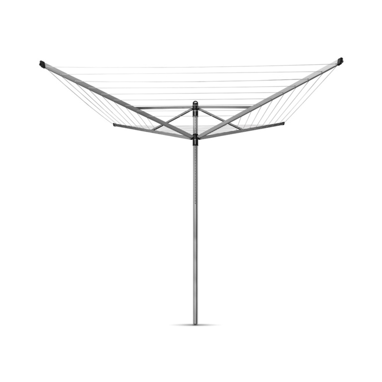 Brabantia Rotary Lift-O-Matic Airer 4 Arm With Ground Spike - 50m