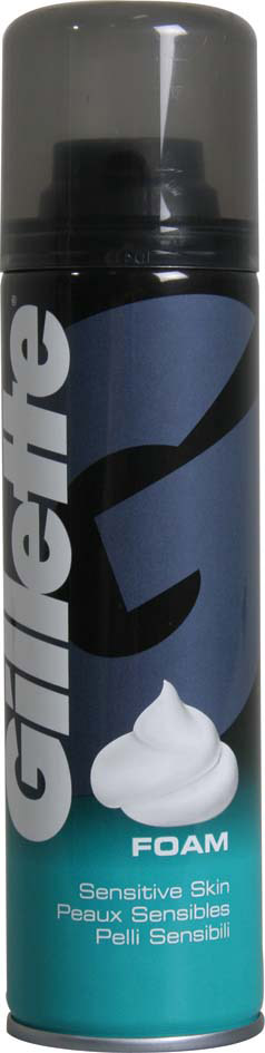 Gillette Shaving Foam 200ml - Sensitive