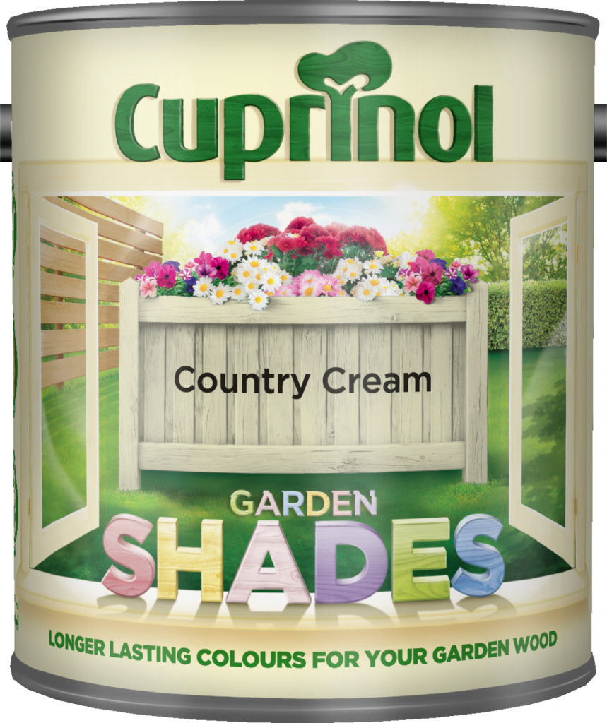 Cuprinol Garden Shades 1L - Country Cream