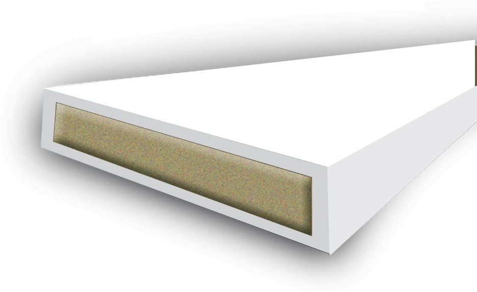 Astroflame Intumescent Seal Fire Only - White 15 x 4 x 2100mm