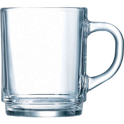Luminarc Clear Mug Pack 6