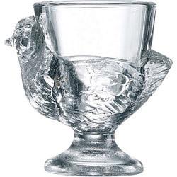Luminarc Hen Egg Cup - Clear
