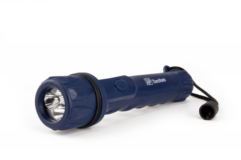 Active Rubber Torch - 2AA 10 Metre Beam