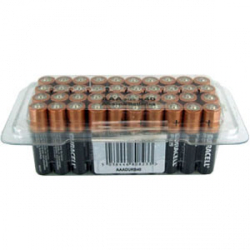 Duracell AAA Batteries - Tub Of  40