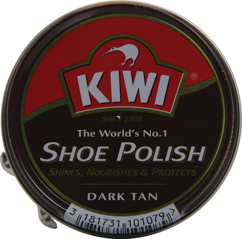 Kiwi Shoe Polish Dark Tan - 50ml