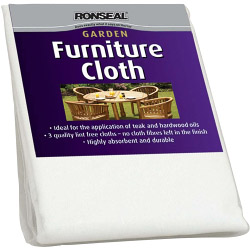 Ronseal Garden Furniture Cloth - 3 Pack